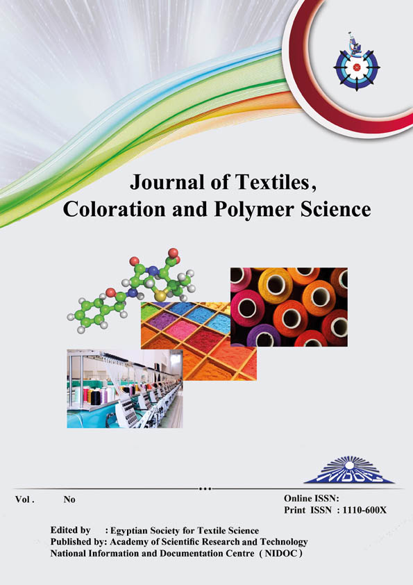 Journal of Textiles, Coloration and Polymer Science